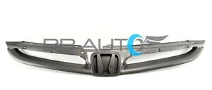 New For 2006 2007 Honda Accord Sedan Front Bumper Grille Grill Grey