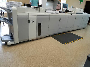 Canon Imagepress C7010vp With Fiery A2200 Finisher Stapler