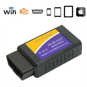 Mini Elm327 Wi Fi Obd2 Obdii Wifi For Iphone Android Pc Car Diagnostic Scanner
