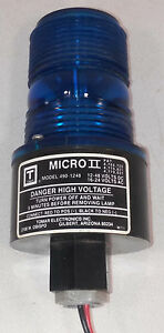 1 Used Tomar 490 1248 Micro Ii Blue Beacon Light make Offer