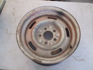 Camaro Chevelle Corvette 15 X7 Steel Wheel Rim 1968 1969 1970 1971 Oem Rally