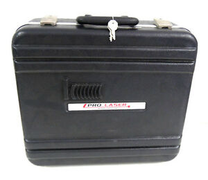 Kustom Signals Police Radar Gun Carrying Case W Keys For Model Pro laser Iii