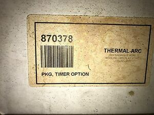 870378 Thermal Arc Timer Option