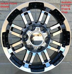 4 New 17 Wheels Rims For Serra 1500 Canyon Censor Yukon 1500 Denali 602