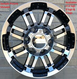 4 New 20 Wheels Rims For Chevrolet Silverado 1500 K 1500 C 2500 K 2500 604