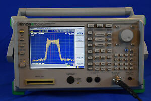 Anritsu Ms2683a Spectrum Analyzer 9 Khz To 7 8 Ghz