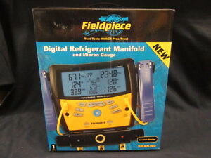 Fieldpiece 3 port Digital Manifold W micron Gauge Sman360