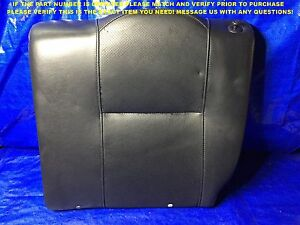 Oem 2002 2003 2004 Acura Rsx Type S Passenger Rear Black Leather Seat Cushion