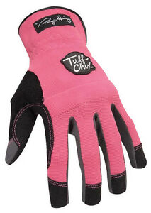Ironclad Pink Women s Medium Synthetic Leather Work Gloves