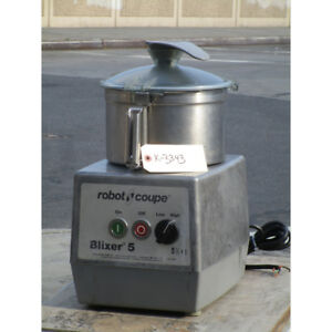 Robot Coupe Blixer 5 Food Processor With 5 5 Qt Bowl Two Speeds