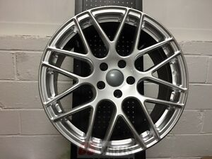 20 P40 Silver Rims Wheels Fit Bmw E60 Rwd Only 525 530 528 535 545 550