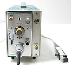 Tektronix Am 503 Current Probe Analyzer With Tm501 Power Module