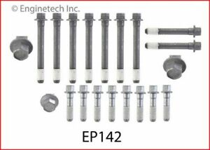 Hb350n Enginequest Chevy 305 327 350 400 Head Bolt Set Complete Set