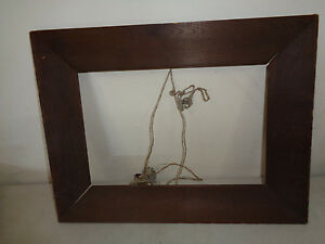 Antique Arts And Craft Mission Oak Picture Frame Herrman Cohen San Francisco
