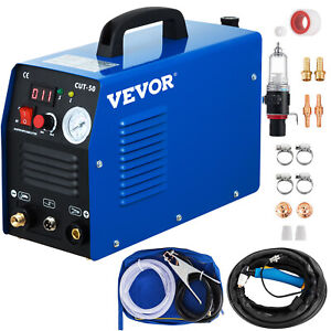 50a Cut 50 Inverter Digital Air Plasma Cutter Machine 110 220v Fit All Cut Torch