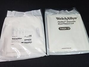 Welch Allyn Soft 13 Flexiport Blood Pressure Cuff Thigh Lot Of 18