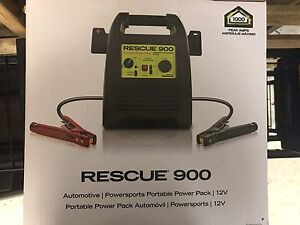 Quick Cable Rescue Battery Jump Pack 900 Jump Starter Acc 900
