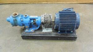 Viking H225 Heavy Duty 225 Series Jacketed Rotary Pump 1hp 230 460v 3ph 1 5 npt