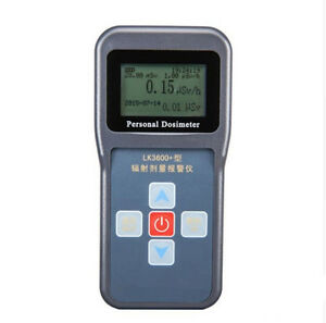 Personal Nuclear Radiation Detector Dosimeter Alarm Express Fast Shipping