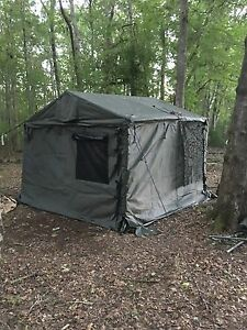 military Modular Command Post Tent System Clear Span Shelter Efficient Tent