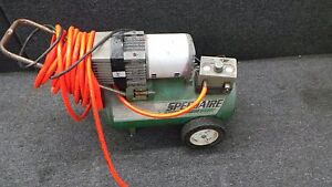 Speedair Air Compressor 5z032n4 3 Gal 1 25 Hp 57391 1 No