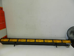 2 Whelen Traffic Advisor 500 Series Halogen Light Bar W Mounts Pn Ta837a