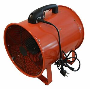 Portable Ventilation Fan12 Inch With 32 Feet Flexible Ducting