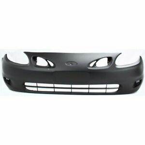Front Bumper Cover For 1998 2002 Ford Escort Zx2 Model Coupe Primed Plastic
