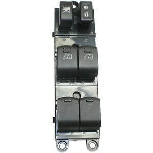 Window Switch For 2007 2012 Nissan Pathfinder 6 button Front Driver Side