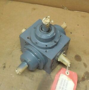 Tandler 01 2a Xh s515 5 way Right Angle Bevel Gearbox Speed Reducer 1 1