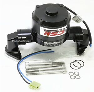 Csr 903nblk Small Block Mopar Electric Water Pump And Backing Plate 318 340 360
