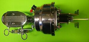 1967 1971 Ford Fairlane Torino Ranchero 8 Inch Dual Chrome Brake Booster Master