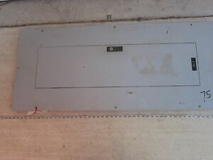 Cutler Hammer Panel Deadfront Cover Bus Bar For Prl1a 3p 120 208v Y Used