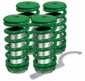 94 97 98 01 Acura Integra Dc2 Ls Rs Scale Adjustable Coilover Sleeves Kit Green
