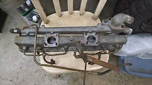 Vintage Jaguar Su Dual Carb Intake Stype 3 8 Litre And Others Part C14809a
