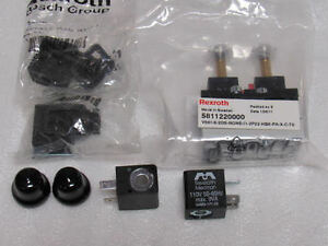 Bosch Rexroth Pneumatic Directional Valve With Solenoids 5811220000