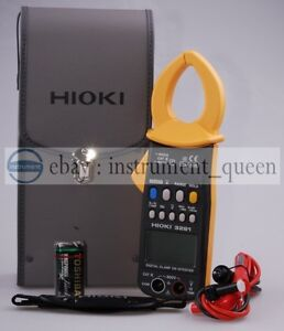Hioki 3281 Digital Clamp Meter On Hitester 600a brand New