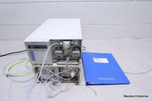 Shimadzu Lc 10ad Liquid Chromatography Solvent Delivery Pump With Manual