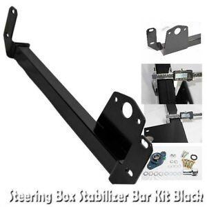 Steering Gear Box Stabilizer For 94 02 Dodge Ram 1500 2500 3500 4wd Only Black
