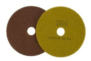 3m 10047 17 Scotch Brite 3m Diamond Stone Floor Polish Pads 5 cs