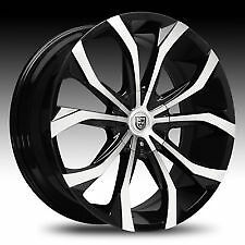 Lexani Lust 22 Rims With Low Profile Lexani Tires For Cadilac Srx