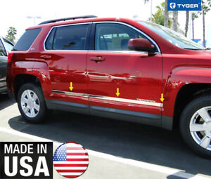 Tyger For 2010 2017 Gmc Terrain Accent Body Side Molding Trim 1 1 2 Wide 6pc