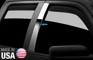 Tyger For 08 2011 Ford Focus 2door 2pc Stainless Steel Chrome Pillar Post Trim