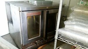 Blodgett Zephaire G Convection Oven Single Oven Bakery Size