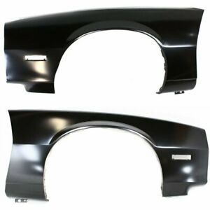 Gm1241119 Gm1240111 Fenders Set Of 2 New Front Right and left Chevy Camaro Pair