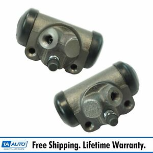 Dorman Rear Wheel Cylinder Lh Rh Set Of 2 Pair For Buick Chevy Gmc Jeep New