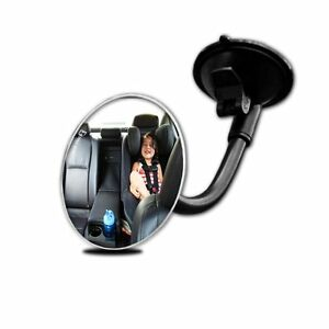 Zento Deals Adjust Blind Spot Round Convex Mirror W Suction Cup