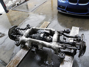 06 07 08 Bmw E60 M5 E63 M6 Differential Complete Rear End With Suspension