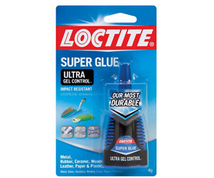 New Loctite 0 14 Fl Oz Ultra Gel Control Super Glue 6 Pack