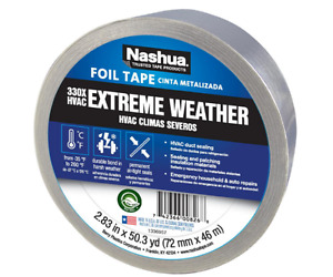 New 2 83 In X 50 Yd 330x Extreme Weather Hvac Foil Tape Seals Joints And Seams